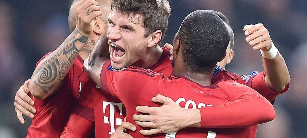 Bayern 4-2 Juventus | Nemtii au revenit INCREDIBIL de la 0-2 si s-au calificat in prelungiri! Barca 3-1 Arsenal, cu goluri marcate de Neymar, Suarez si Messi! REZUMATE