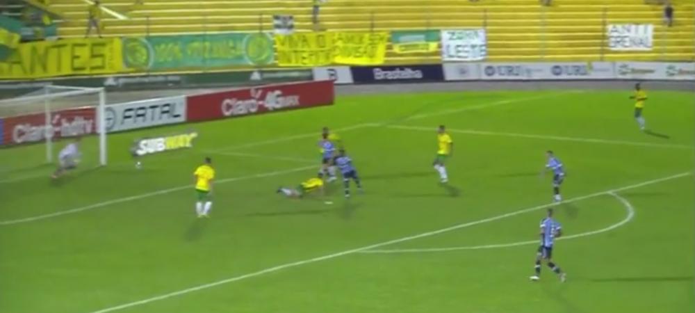 Gol MINUNAT marcat de noul Ronaldinho al Braziliei! Lovitura magica a pustiului de 17 ani