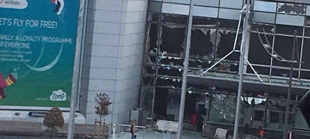 Momente de groaza pentru Rednic! Doua EXPLOZII in aeroportul din Bruxelles, fiica antrenorului dinamovist se afla acolo