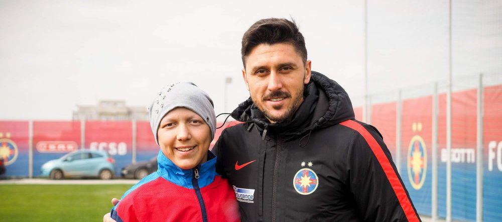 Ramas in afara lotului nationalei, Marica i-a indeplinit visul unui fan bolnav! FOTO