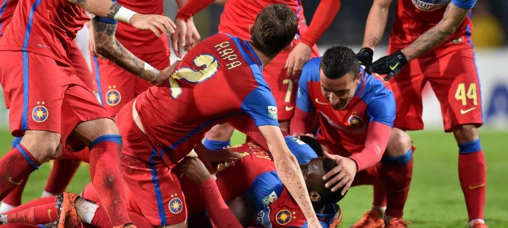 """Steaua, PRIMA in Liga I de la venirea lui Reghe! Antrenorul Stelei nu e convins de titlu: """"Lupta se da pana la final"""""""