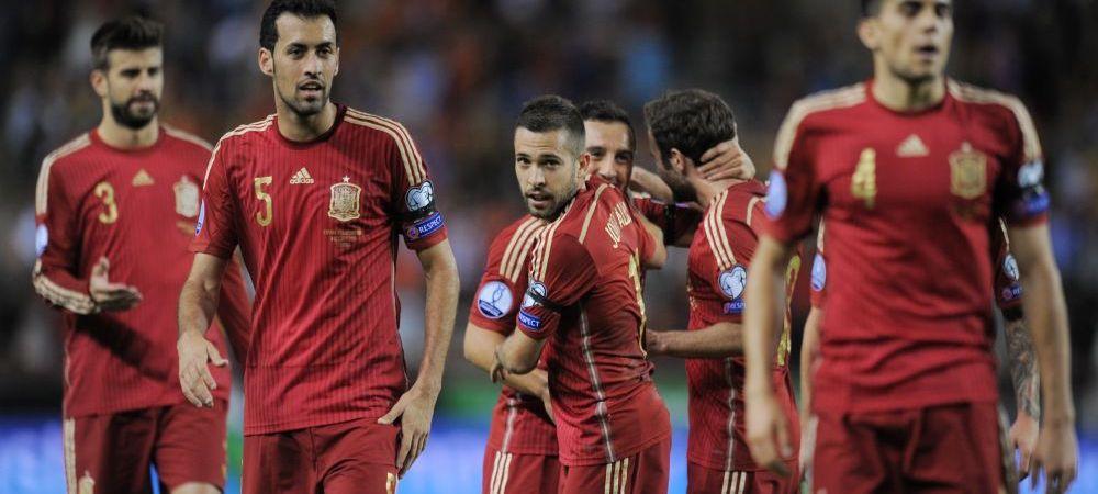 Absenta de ultim moment si din lotul Spaniei: un jucator al Barcelonei are sanse mici sa mai vina in Romania, pentru meciul de la Cluj