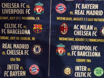 Meciuri de vis intr-un 'Champions League' de vara! PSG, Bayern, Barca, Real, Liverpool si Leicester participa la International Champions Cup. Programul partidelor