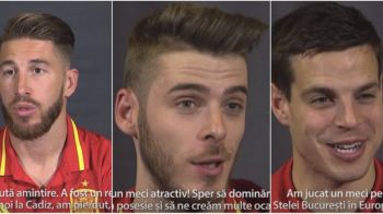 "Cum i-am transformat pe spanioli in campioni europeni si mondiali :) Sergio Ramos: ""Acea infrangere cu Romania a insemnat mult"""