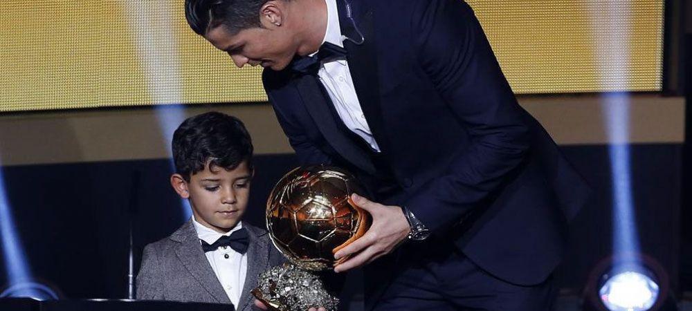 "Ronaldo vrea ca fiul sau sa-i calce pe urme! Cristiano Jr vrea sa devina fotbalist: ""Am acasa 30 de mingi, se joaca tot timpul"""