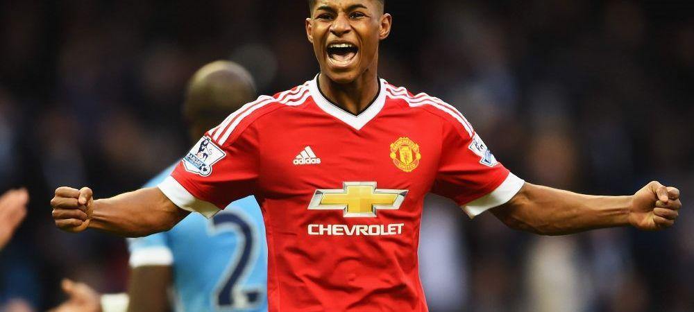 Are 18 ani si a marcat 5 goluri in 8 meciuri la debutul pentru United. De ce e INTERZIS Rashford in vestiarul vedetelor de la Manchester!