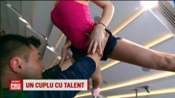O fosta campioana europeana la gimnastica pregateste un SHOW unic alaturi de iubitul ei la Romanii au talent. VIDEO