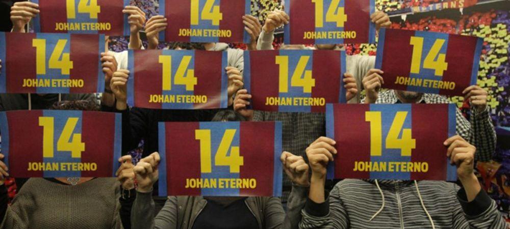 Gestul suprem la El Clasico pentru Johan Cruyff. Propunerea primita de Barcelona si Real Madrid