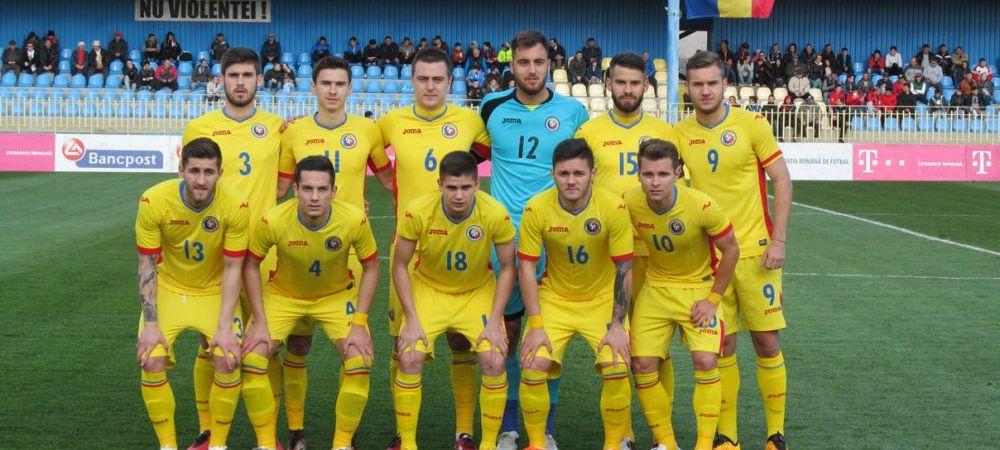 Romania 2-1 Tara Galilor. Ionita inscrie un gol superb, Cojocaru a aparat penalty si apoi a comis o gafa imensa