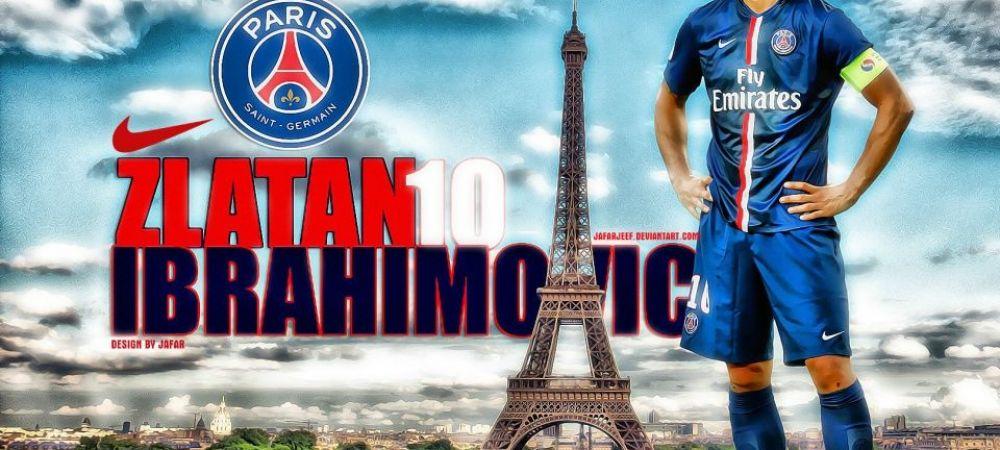 """Nimeni nu s-a gandit la asta!"" Ibrahimovic a vorbit despre viitorul sau. Varianta probabila dupa ce pleaca de la PSG in vara"