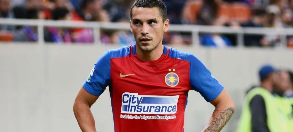 """""""Suntem acolo unde ne este locul!"""" Nicusor Stanciu a facut-o pe Steaua lider dupa ce a transformat un penalty in finalul meciului"""