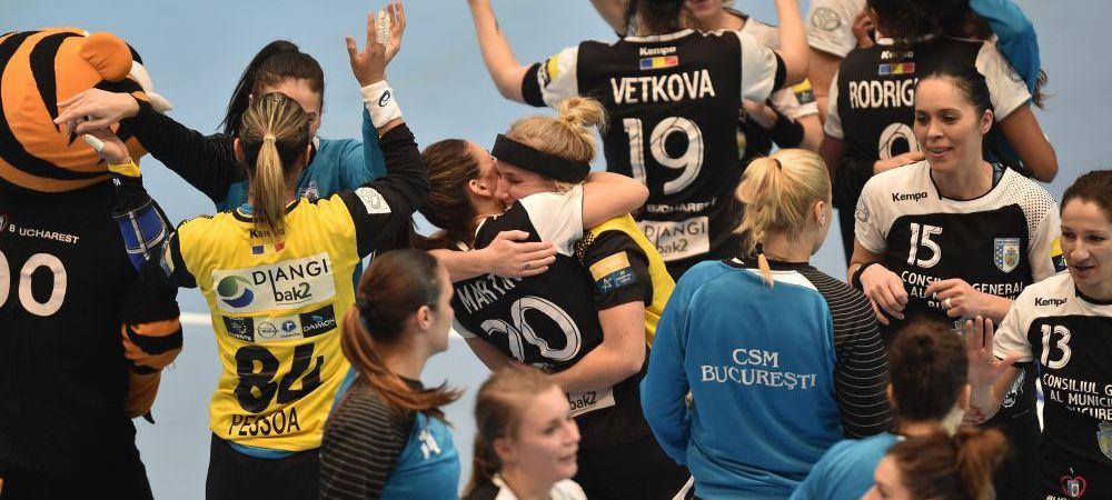 Bucurestiul respira aerul de Liga Campionilor: victorie fantastica pentru CSM Bucuresti, care are insa in fata un retur de foc la Rostov. CSM 26-25 Rostov Don, in sferturi