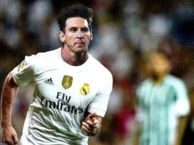 "Stirea zilei in fotbalul mondial: ""Messi a acceptat oferta Realului. Suma de transfer e 500 milioane euro"" :)"