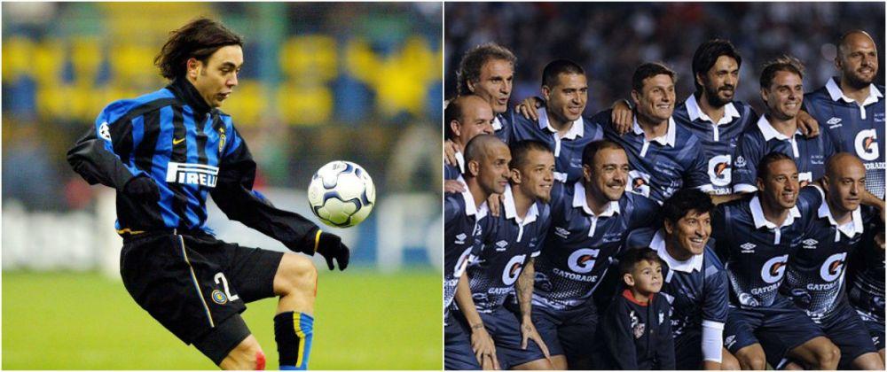 Final de cariera pentru inca un jucator fenomenal: Recoba a jucat meciul de adio alaturi de Zanetti, Valderrama si Riquelme si a marcat superb