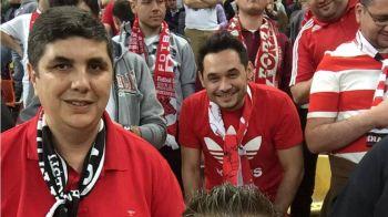 Din Las Fierbinti, in peluza lui Dinamo :) Aparitie surpriza la primul meci pe National Arena in 2016! Cine a venit la meci. FOTO