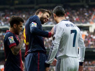 """Modul bizar in care jucatorii Realului s-au motivat inainte de El Clasico: un star de la Barca folosit pe post de """"tinta"""""""