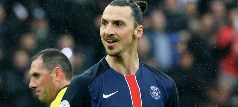 Record senzational atins de Zlatan in Europa dupa hattrickul cu Nice! Cum a reusit sa marcheze pentru PSG. VIDEO