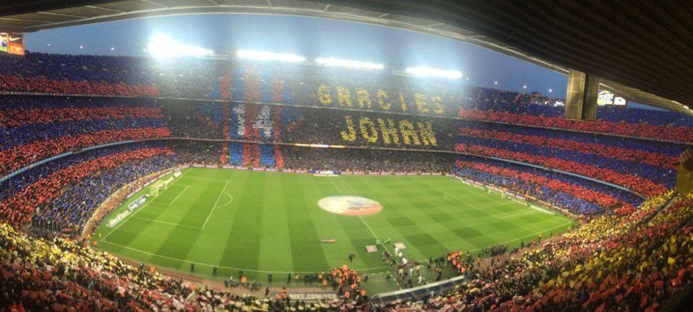 """""""BAAA, CRISTI"""" s-a mutat la El Clasico! Moment SCANDALOS pe Camp Nou cand tot stadionul tinea un moment de tacere pentru Johan Cruyff"""