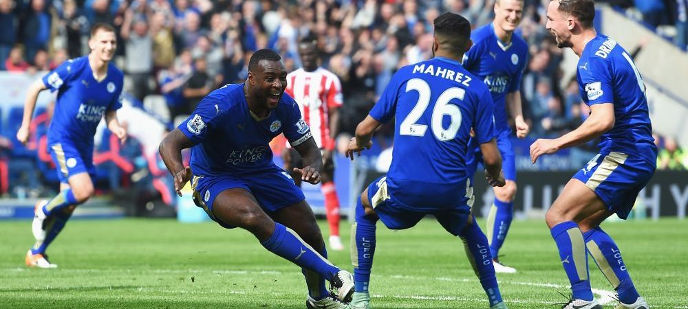 Iordanescu ar spune ca e o gluma! Un 'grasan' de 93 kg decide titlul in Premier League: are fix inaltimea lui Alibec si a dat gol pentru Leicester! 6 etape, 7 puncte avans