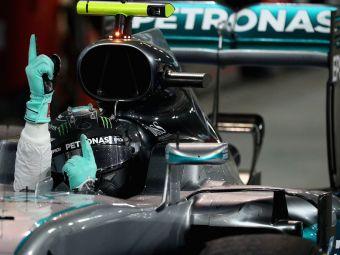 """""""A fost un weekend fantastic pentru mine"""" Nico Rosberg a cucerit Marele Premiu al Bahrainului"""