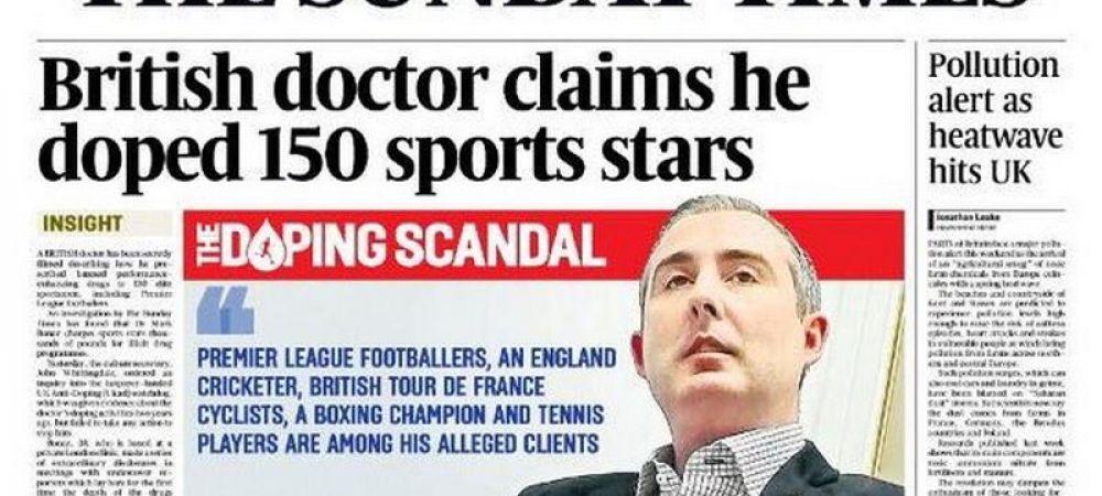 """Premier DOPING League! Jucatori de la Chelsea, Arsenal si Leicester, pe lista sportivilor acuzati ca au apelat la """"Doctorul Hormon"""". Reactia cluburilor"""