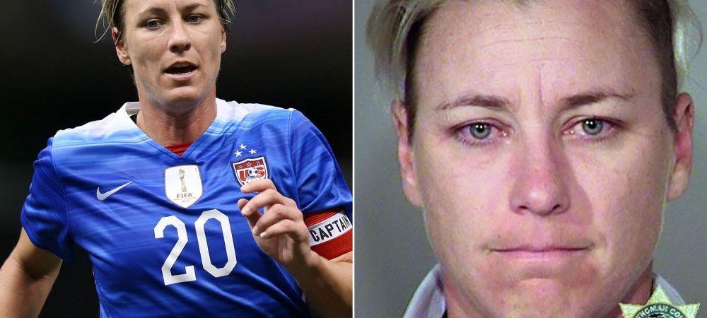 Da, mama, am fost beata :) Cea mai buna marcatoare din istoria fotbalului a ajuns in centrul unui scandal dupa ce a condus bauta