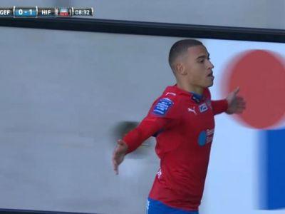 El e noul LARSSON pe care se vor lupa marile cluburi din Europa! Ce gol a marcat fiul lui Henrik Larsson pentru echipa tatalui sau