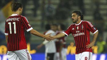 "Un mit spulberat :) Durul Gattuso, pus la respect de Zlatan in vestiar: ""L-a luat pe sus si l-a bagat in cosul de gunoi"". Ce s-a intamplat intre cei doi"