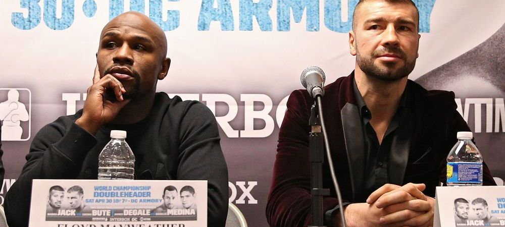 """Mayweather l-a laudat pe Lucian Bute: """"Este spectaculos si exploziv!"""" Ce spune despre meciul de titlu mondial WBC cu Badou Jack"""