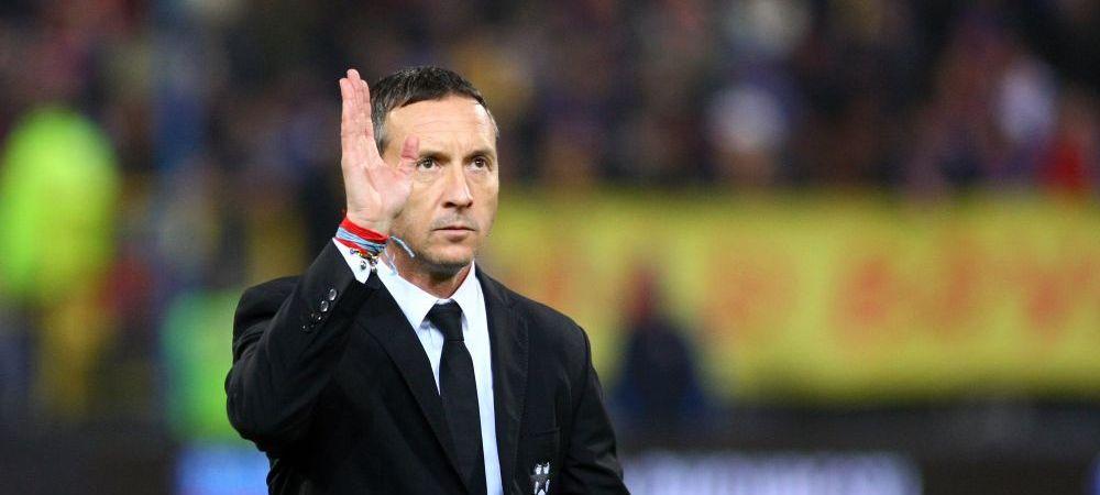 """""""Nu este adevarat ca il vrem!"""" Reghecampf spune ca Bojan Golubovic nu este tinta Stelei pentru sezonul viitor"""