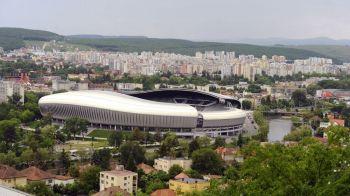 Romania - Spania, DIN NOU pe Cluj Arena? Tribuna noua si acoperis improvizat ca meciul de la Cupa Davis cu Nadal sa se joace pe cel mai mare stadion din Cluj