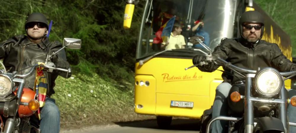 """Stelea: """"Vii cu mine in Franta sa sustinem nationala? Am 100 de locuri libere in super-caravana cu care merg la Paris!"""""""