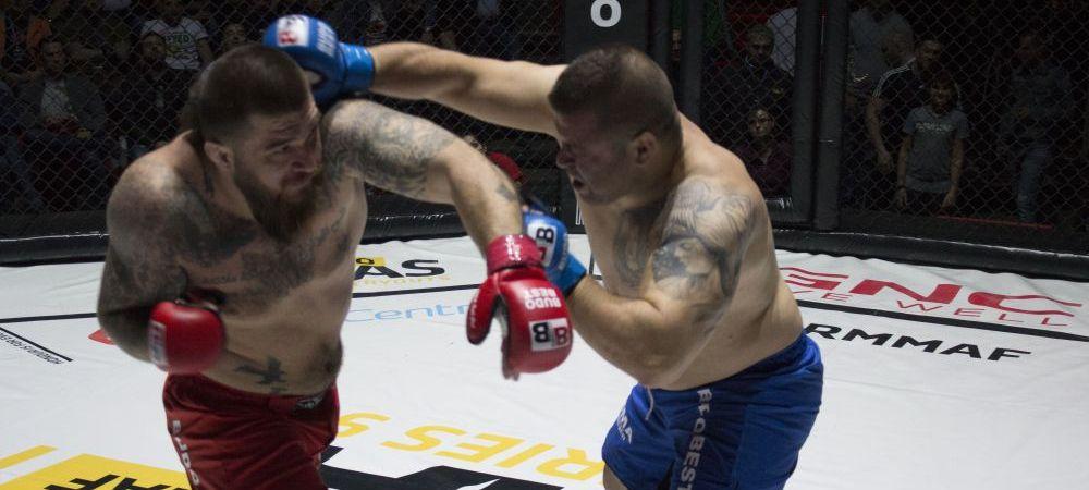Expendables de Romania! Povestea GHIAURULUI, romanul care vrea sa ii terorizeze pe americani in cusca de MMA