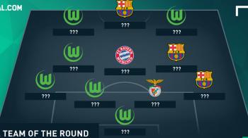 "Sase jucatori de la ""minunea"" Wolfsburg, trei de la Barcelona. Cum arata echipa saptamanii in Liga Campionilor"
