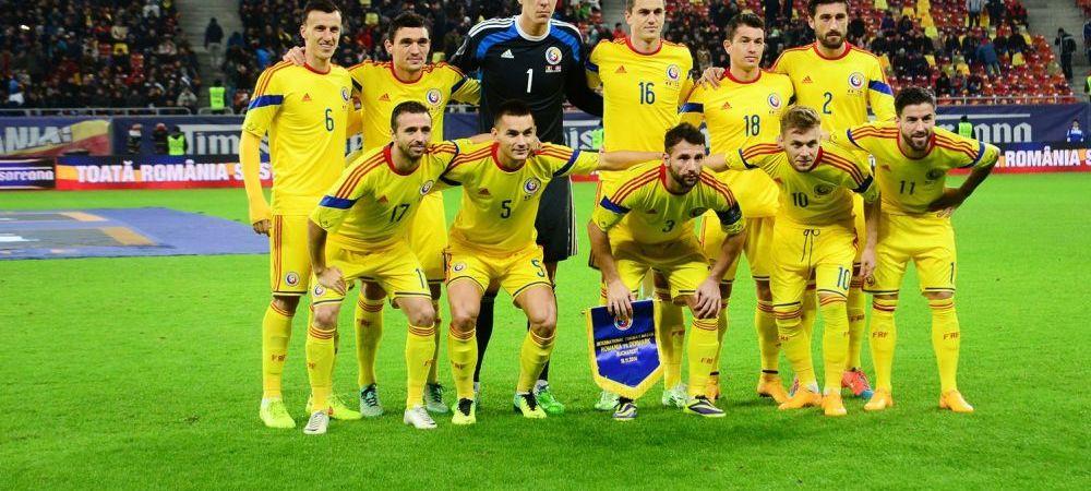 Neinvinsa, Romania cade 3 locuri in clasamentul FIFA, dar este in continuare peste Franta. Elvetia e cea mai bine clasata echipa din grupa de la EURO