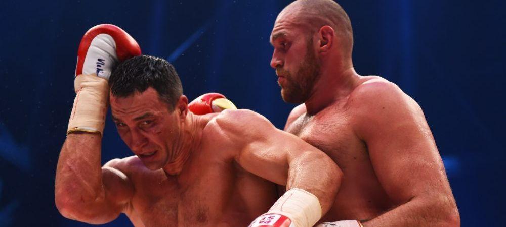 Wladimir Klitschko isi ia REVANSA dupa infrangerea cu Fury! Cand are loc lupta colosilor din box