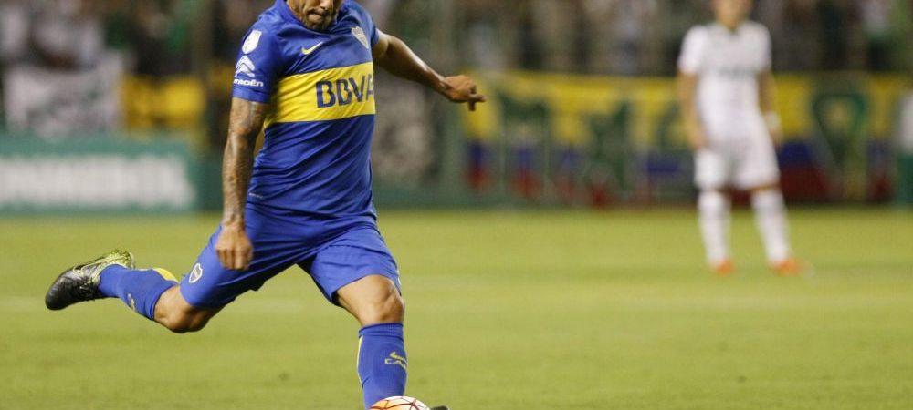 """Apasul"" Tevez face spectacol total in America de Sud: reusita ""a la Maradona"" in Copa Libertadores | VIDEO"