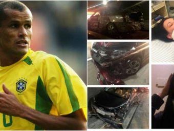 Momente groaznice pentru Rivaldo: familia fostului Balon de Aur, implicata intr-un accident in lant in Brazilia