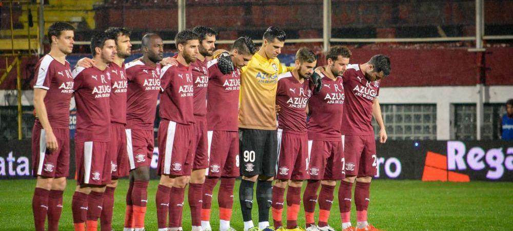 Pas gresit de la primul meci in Play Off: Rapidul poate pierde primul loc dupa ce a fost invinsa in Giulesti, 1-2 cu SC Bacau