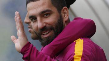 A stat 6 luni pe bara ca sa joace la Barcelona, dar acum e gata de plecare! Oferta de nerefuzat pentru Arda Turan din China