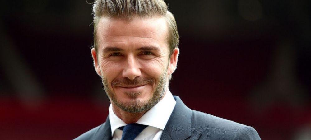 Beckham, MASINA de facut bani! Fostul star de la Manchester a castigat la fel de mult ca Messi din imaginea sa in 2015