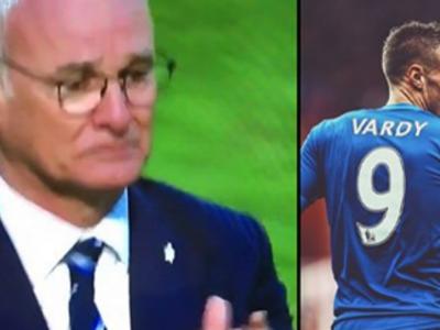 Any Given Sunday. Leicester e tot mai aproape de titlu, dupa inca o victorie in Premier League: 7 puncte avans in acest moment. Imagini senzationale: Ranieri, in lacrimi pe teren
