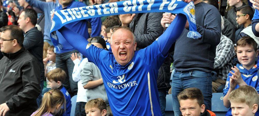 GENIAL! Reactia superba a acestui fan al lui Leicester IN BISERICA, la un botez, cand a aflat ca Vardy a deschis scorul