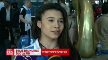 Toate drumurile duc la Rio | Gimnastele Romaniei au plecat in Brazilia pentru a obtine calificarea la Jocurile Olimpice. Virusul Zika le-a speriat