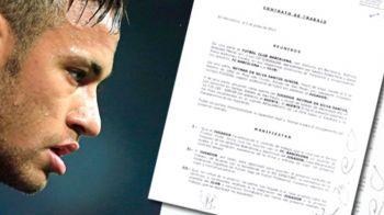 Detaliile de SUTE DE MILIOANE de euro publicate de Football Leaks din contractul lui Neymar