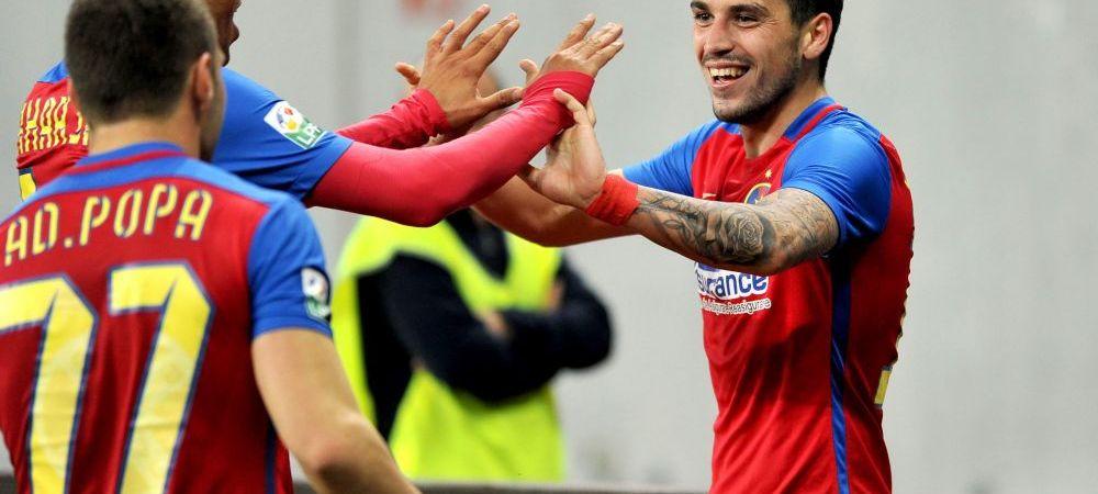"""Criticat DUR de Becali, Stanciu arunca BOMBA: """"E momentul sa plec de la Steaua!"""" Italienii au intrat imediat pe fir"""