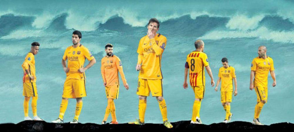 Ziua in care TITANICUL fotbalului a fost scufundat! Primele pagini din Spania dupa eliminarea cu scandal a Barcelonei