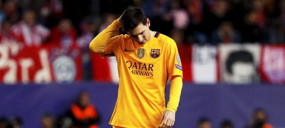 """""""Nici macar un semn de la Leo Messi!"""" Cum este ironizat starul Barcelonei dupa o noapte de cosmar in Champions League"""