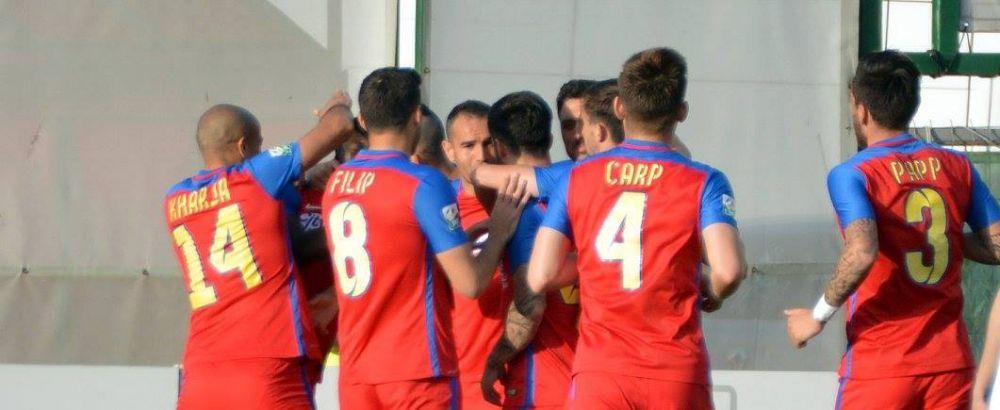 Facut praf de patron, Bawab o duce pe Steaua in finala Cupei Ligii! Prima reactie data dupa DUBLA cu Astra