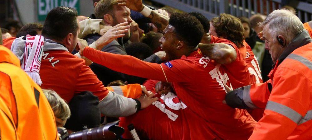 GENIAL! Un fan al lui Liverpool a trait nasterea fiului sau si victoria cu Dortmund in acelasi timp! Ce decizie a luat la final :)